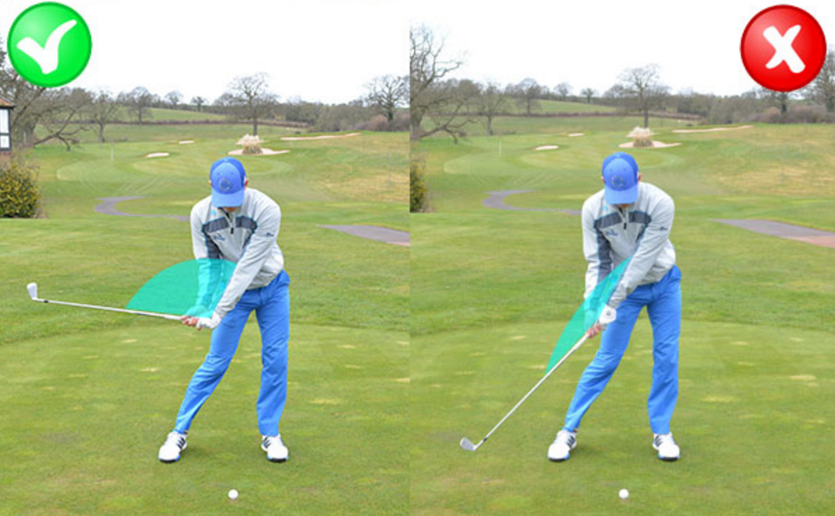 Early wrist cock no backswing golf picture 578