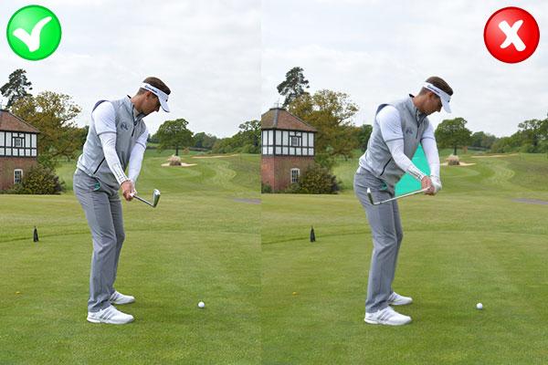 flirting moves that work golf swing back swing video