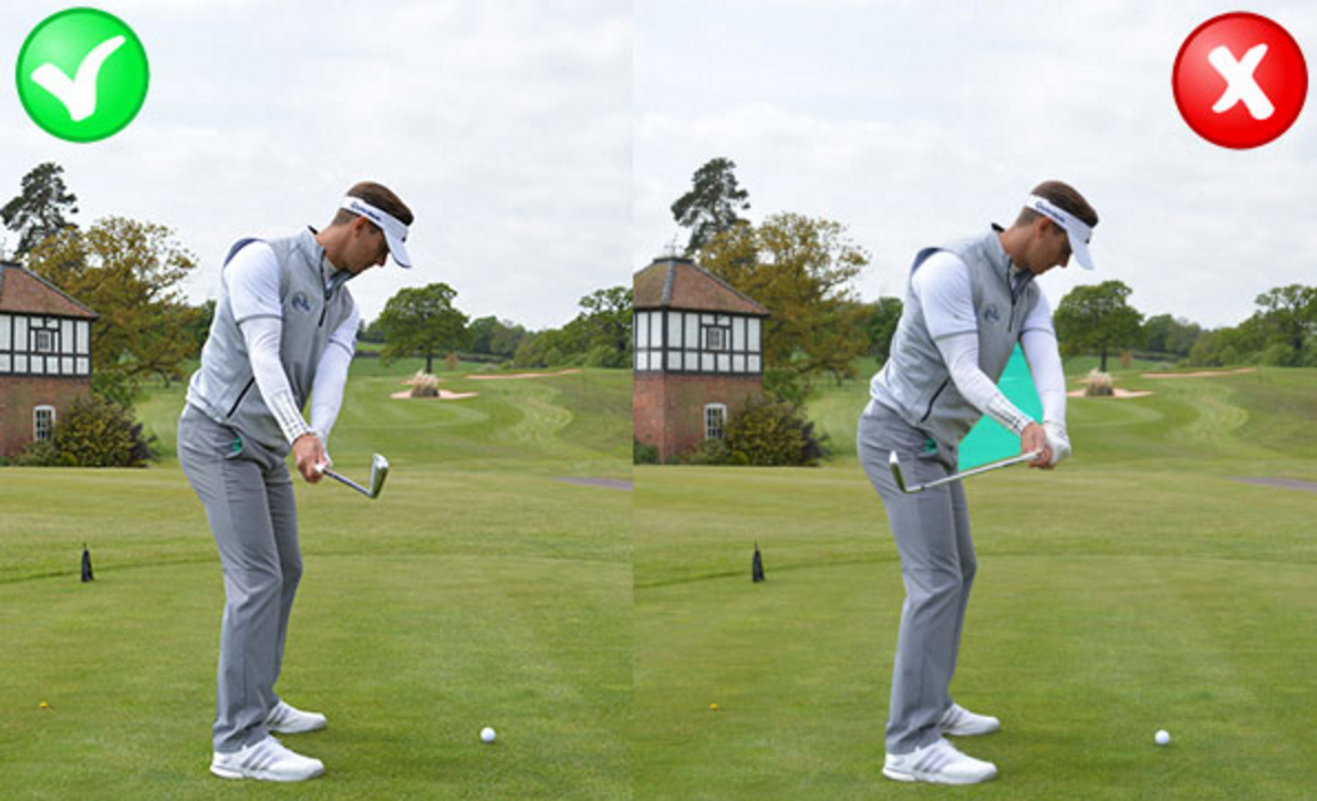 golf photography swing stock hitting image photo ball of practice lady