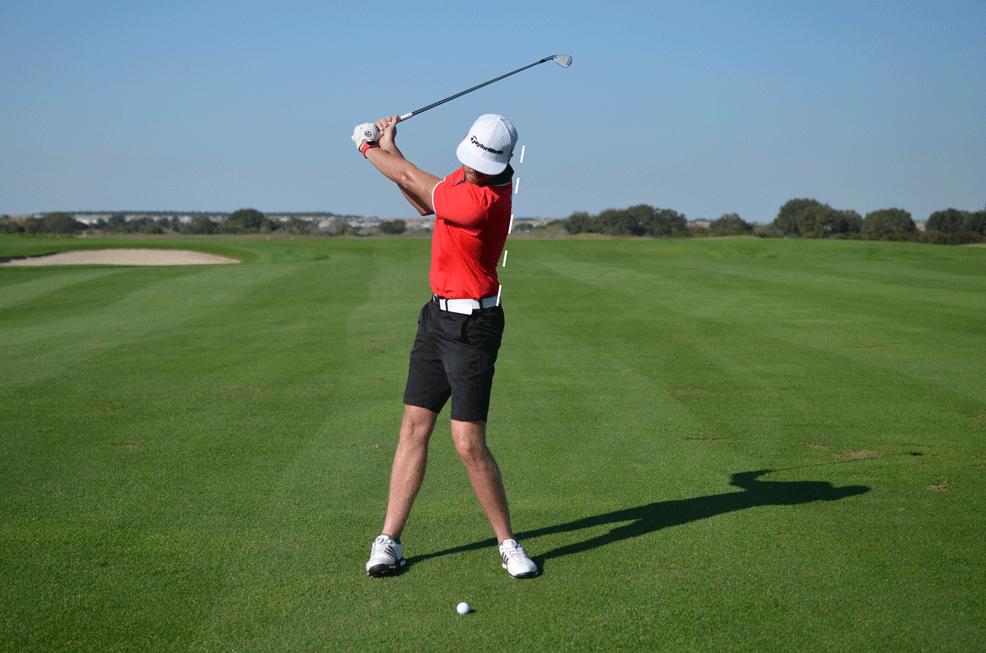 Reverse Spine Golf Swing Fault