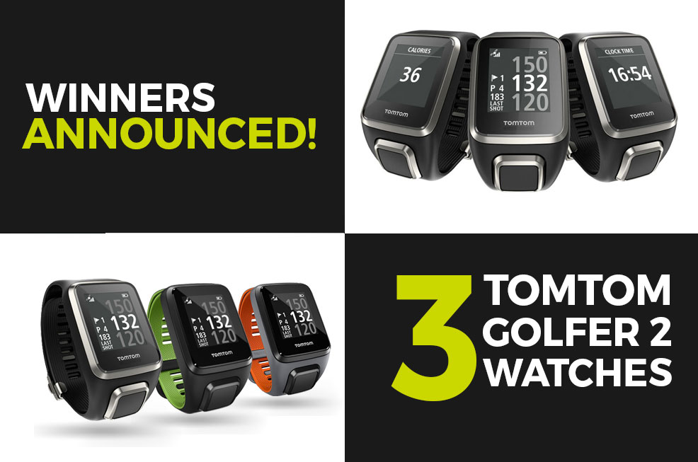 Tomtom Golfer 2 watches