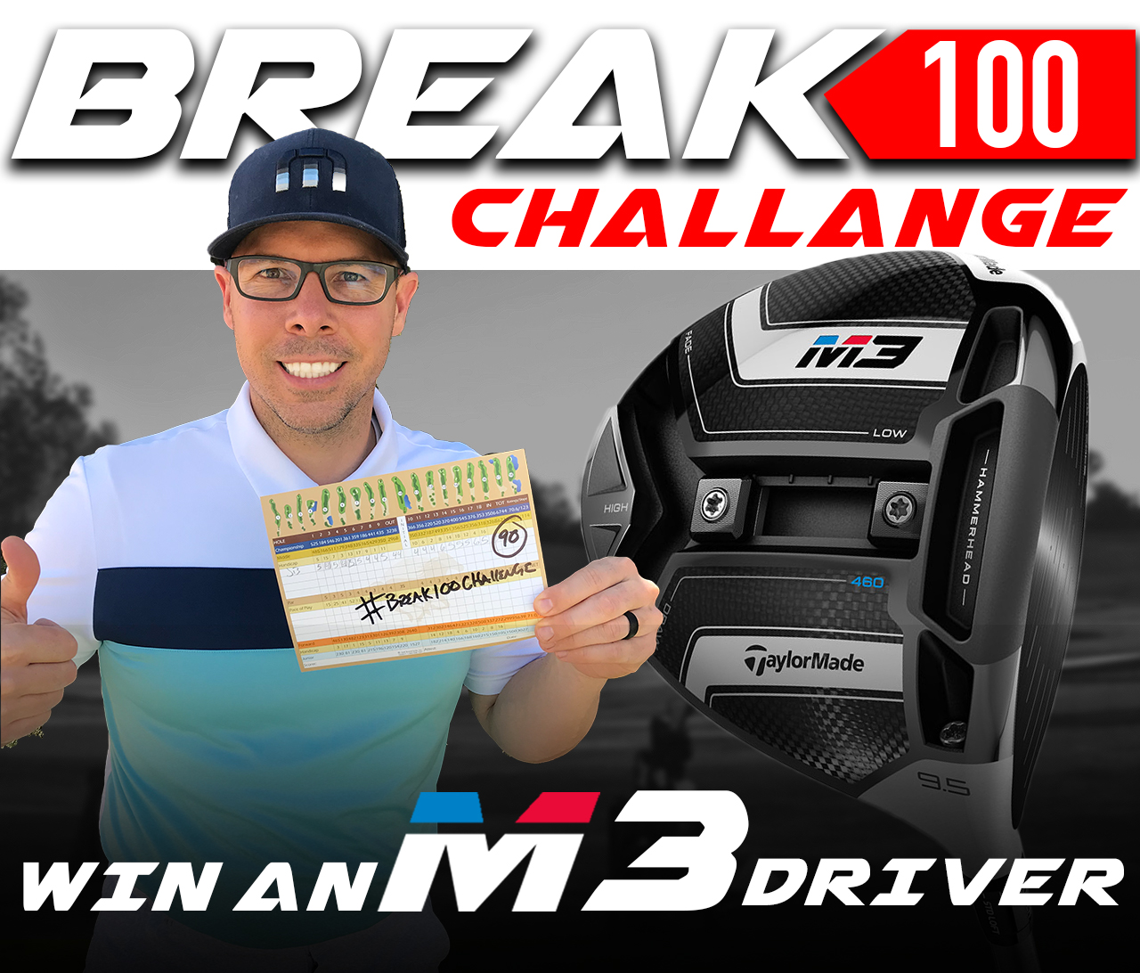 break 100 challenge