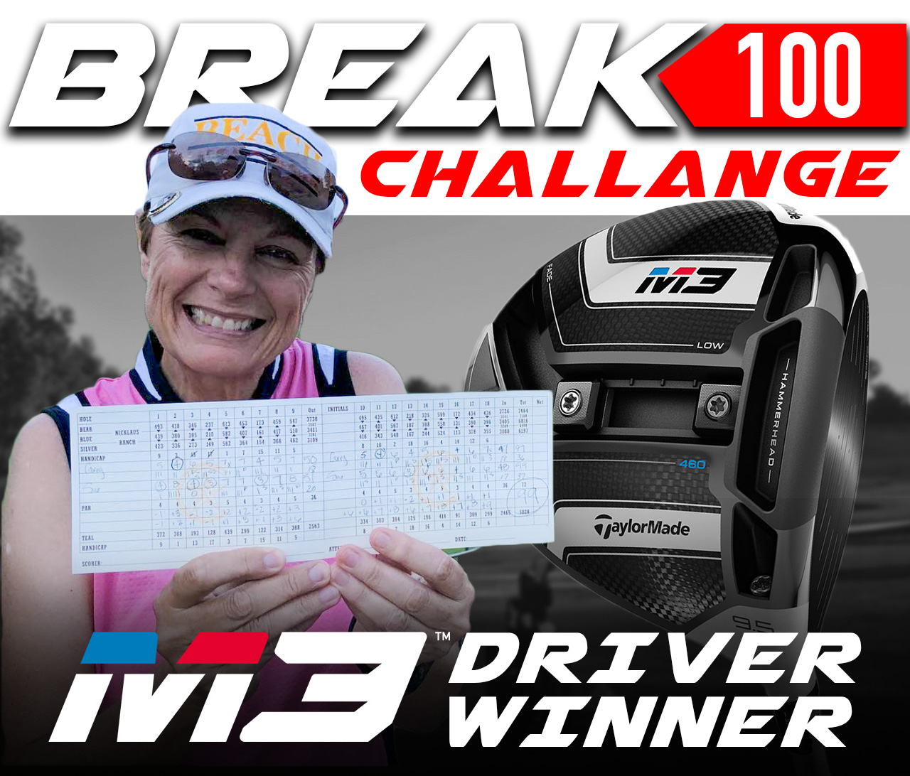 BREAK 100 CHALLENGE WINNER ANNOUNCED