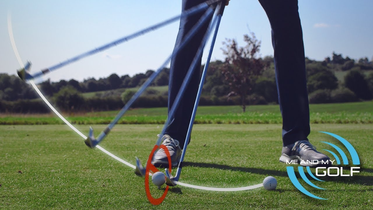 Golf Swing Move Away Drill Me And My Golf