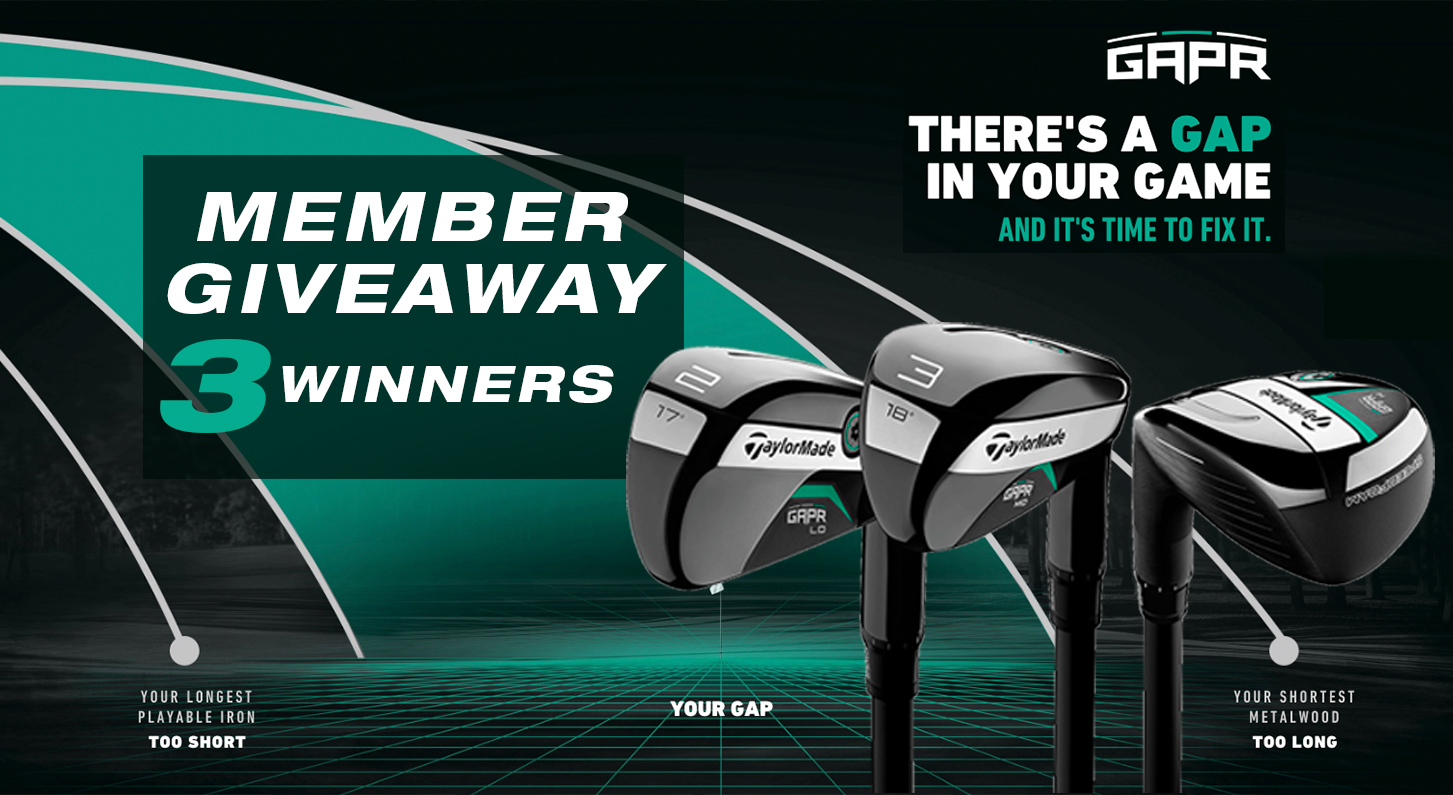 taylormade GAPR giveaway