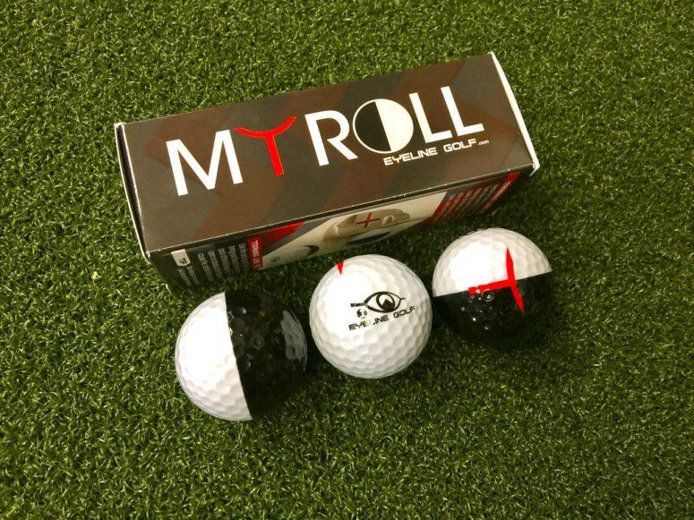 MyRoll 2-Color Golf Ball